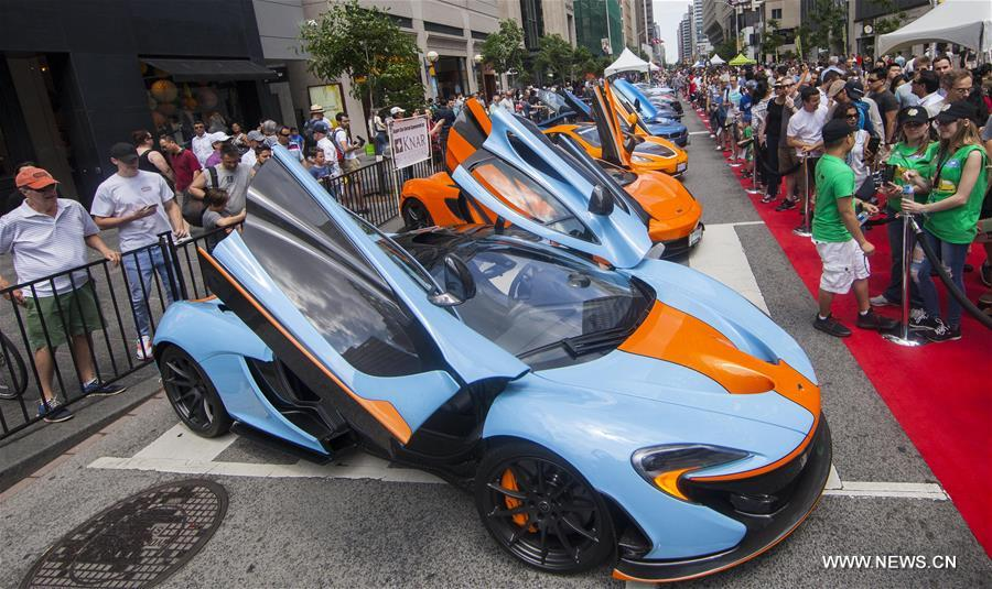 Th Yorkville Exotic Car Show Takes The Stage In Toronto Espinews - Exotic car show near me